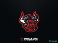 Bull Esports Mascot Logo