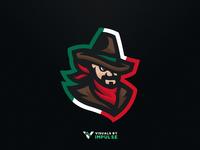 Mexican Gunslinger Logo