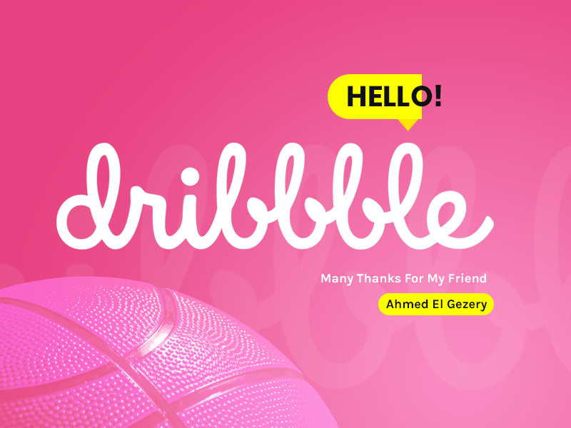 Hello! Dribbble shot web design ux ui design dribbble hello first shot