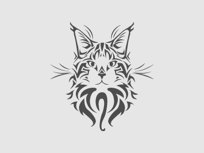 cat logo by Stella El on Dribbble