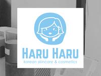 Haru Haru logo // Korean skincare & cosmetics