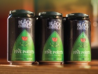 5 Points IPA for The Black Abbey Brewing Company