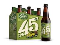 45er IPA for Austin Bros