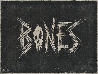 """Bones"" Hand Lettering"
