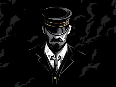 Midnight Conductor Illustration