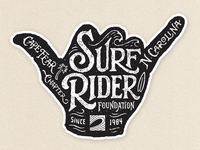 Surf Rider Foundation Stickers