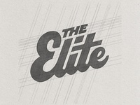 The Elite Hand Lettering Sketch