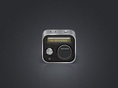 Old Radio icon icon iphone ios ipad apple radio retro old