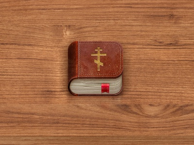 Bible for iOS icon iphone ios ipad apple book retro old bible