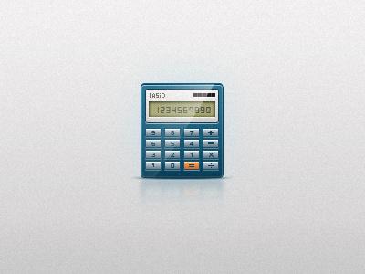 Free calculator icon freebie forex change stock calculator business digital economy finance icon free psd