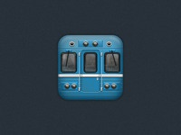 Subway icon for iOS