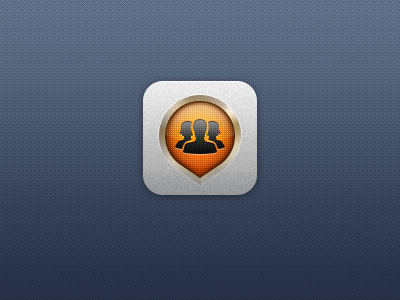 Joil.me icon ios icon social social network application iphone ipad app people find search map friends