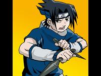 Drawing Sasuke from Naruto
