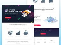 influencer marketing webpage
