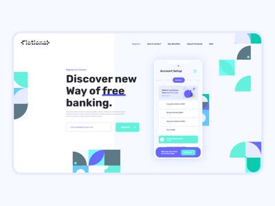 Daily UI #5 Landing Page