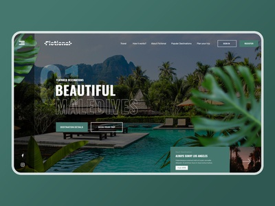 Daily UI #6 Travel Website