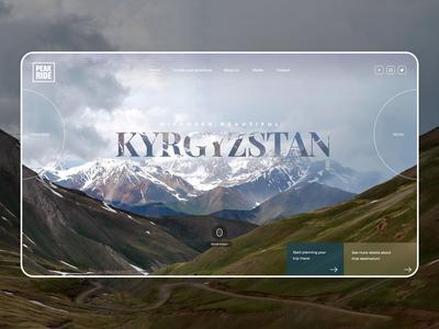 Mountain Trips Website Concept
