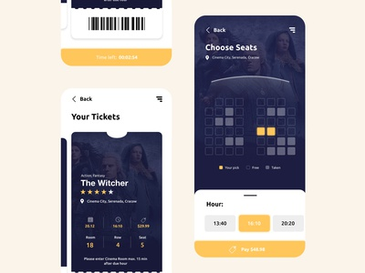 Daily UI #14 Cinema App