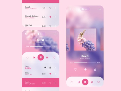 Daily UI #15 Music Player App