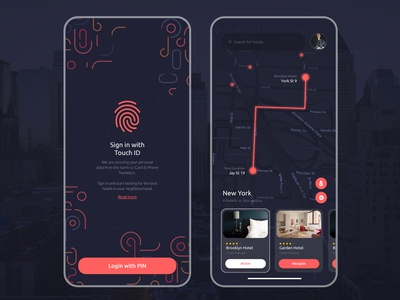 Daily UI #26 Hotel Finder App concept application user experience ux ux  ui app design ui ui  ux ui design challenge daily daily ui best designs user interface hotel app hotel