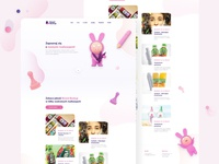 Creative Agency Website Concept