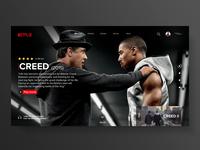 "Website - Nexflix ""Creed"""