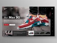 Website - Nike Air Max 90