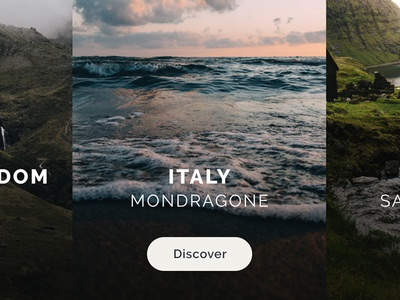 Explore the World dark ui ux explore world iphonex photo online ios app