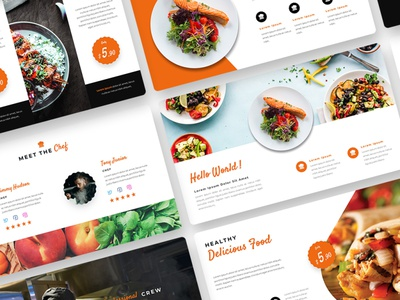 Culinary Presentation Template layout exploration layout layoutdesign food powerpoint presentation powerpoint template powerpoint design powerpoint ppt template pptx ppt