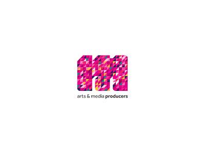 Muztaki arts & media producers logo design media art color visual identity typography clean brand identity vector logotype logo design identity logo branding brand design