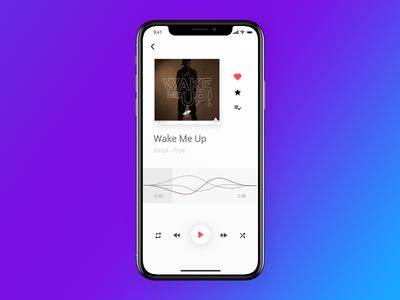 Music Player UI - UX