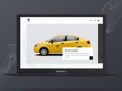 Taximo Web Concept