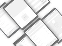 Booking Wireframe