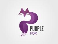 Purple Fox Logo