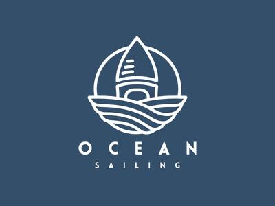 Ocean Sailing Logo