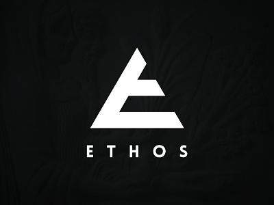 E Mark Concept affinity designer ethos strong bold clean e letter triangle concept letter mark