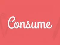 Consume Pencil Concept