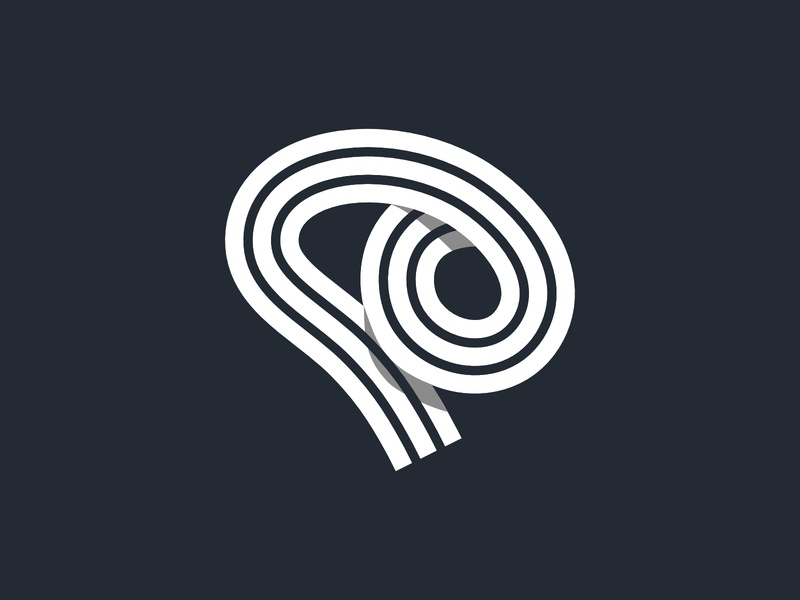 Swirly Mind - Flat Logo Concept creative bold concept abstract logo design affinity designer vector illustration design brand simple modern flat mark symbol brain mind branding logo clean