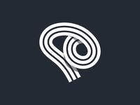 Swirly Mind - Flat Logo Concept