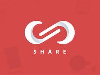 Share Lettermark Logo