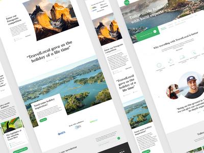 Travel Local Website