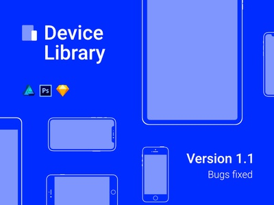 Version 1.1 – Update – Device Library