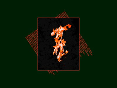 Contrast | Visual manipulation #1 abstract branding illustration concept art designs presentation print dark fire design lightroom