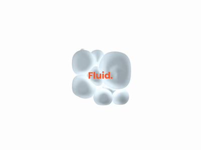 FLUID | 3d manipulation #1 web animation 3d 3d art cinema 4d after effect uidesign design concept art ui