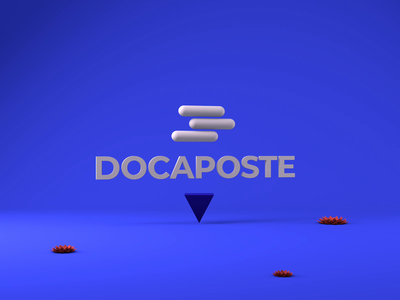 DOCAPOSTE BRAND DESIGN | 3d manipulation #2