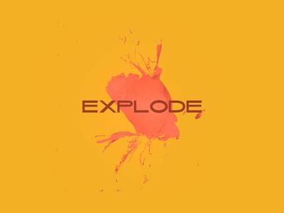 EXPLODE BALLON | 3d manipulation #5 web c4d cinema 4d 3d art 3d uidesign after effect design concept art