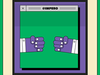 Bump fists, then explode fists to kill germs. agency computer 90s motion illustration artwork check fist bump covid-19 coronavirus lockdown