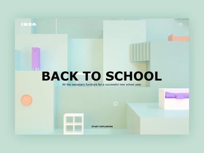 Ikea shopping page concept furniture ikea shopping shop product design ui cinema4d conceptual 3d