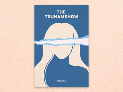 Minimal movie posters #3 - The Truman Show