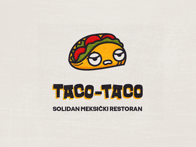 A solid Mexican restaurant food mexican design vector branding logo character design illustration